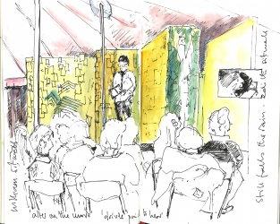 PE William Sitwell at Port Eliot Festival