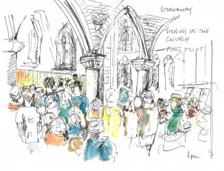 Stornaway in St Germans Church Port Eliot 15