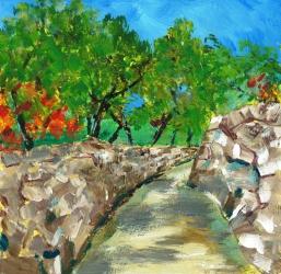 Croatia-olive path doc