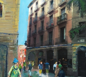Hostal Grau Barcelona Photo Peinture