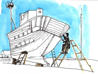boatbuilding small